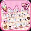 Sweet Donut Pink Drip Keyboard Theme