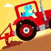 Dinosaur Farm - Tractor simulator games for kids