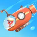 Dinosaur Submarine: Games for kids & toddlers