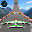Airplane Stunts 3D: Extreme GT Racing Stunt Games
