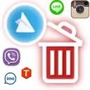 حذف اکانت اینستاگرام و تلگرام