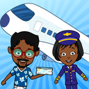 Tizi Airport: My Airplane Games for Kids Free