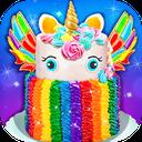 Rainbow Unicorn Cake - Unicorn Food Maker