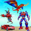 Dragon Robot Air jet Game Robot Transforming Game
