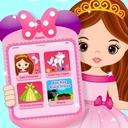 Pink Little Talking Princess Baby Phone Kids Game