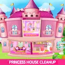 Princess House Cleanup For Girls: Keep Home Clean