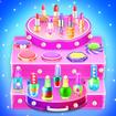 Makeup kit cakes : cosmetic box makeup cake games