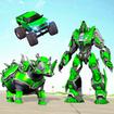 Rhino Robot Car Futuristic Robot Transformation