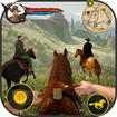 Cowboy Horse Riding Simulation : Gun of wild west