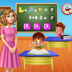 Kindergarten School Teacher: Kids Learning Games
