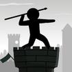 Epic Stickman Knight Hero Fighting: Javelin Tower