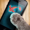 Fish game toy for cats