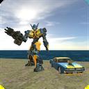 Muscule Car Robot
