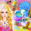 Princess Room Cleanup-Wash, Clean, Color by Number