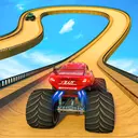 Monster Truck Mega Ramp Stunts Extreme Stunt Games