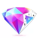 No.Poly - Poly Art Coloring Book Color Puzzle Game