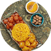 شیرینی ماه رمضان + زولبیا و بامیه