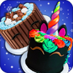 Real Cakes Cooking Game! Rainbow Unicorn Desserts