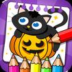 Halloween - Coloring & Games