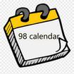 تقویم 98