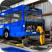 Bus Mechanic Auto Repair Shop-Car Garage Simulator