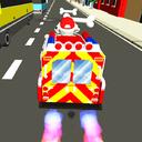 Traffic Paw Racing Adventure
