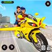 Real Flying Bike Taxi Sim 2021
