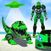 Crocodile Robot Car Transform Mega Robot Games