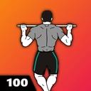 100 Pull Ups - Upper Body Workout, Men Fitness