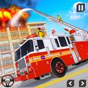 Firefighter Truck Driving Sim: Fire Truck Games