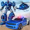 Police Robot Car Games - Transforming Robot Games