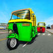 City Tuk Tuk Rickshaw Driver 2019