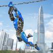 Real Flying Spider Ninja Rope Hero Vice Town Crime
