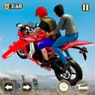 Flying Motorbike Taxi Driving Simulator Game 2021