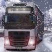 Truck Simulator Snow Roads