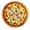 پیتزاها و اسنک های خوش مزه
