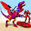 Flying Dinosaur Robot Car Transform: Dino Games