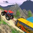 Tractor Pull Simulator Drive: Tractor Game 2021