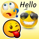 WeSmile WAStickerApps - Best smileys stickers
