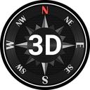 Compass Steel 3D (No ads)