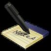 دفترچه یادداشت رمزی + یادآور شناور