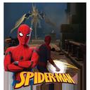 Spider Man in an unknown land