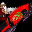 Snowmobile Santa - Racing Game