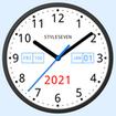 Light Analog Clock Live Wallpaper-7