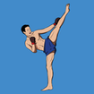 Kickboxing - Fitness Workout and Self Defense