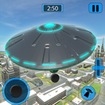 Alien Flying UFO Simulator Space Ship Attack Earth