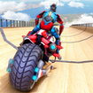Police Robot Bike Stunt : Mega Ramp Bike Game 2021