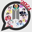 BTS Sticker WAStickerApp KPOP Idol for Whatsapp