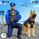 Police Dog Airport Crime Chase : Dog Games