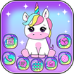 Pink Unicorn Theme Launcher